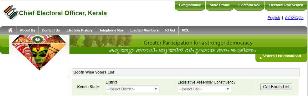 www.ceo.kerala.gov.in - Kerala Voter List 2019 With Photo [lsgelection.kerala.gov.in]