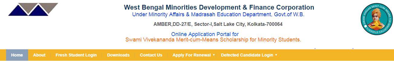 Swami Vivekananda Merit Cum Means Scholarship Last Date - For Minority [Renewal]
