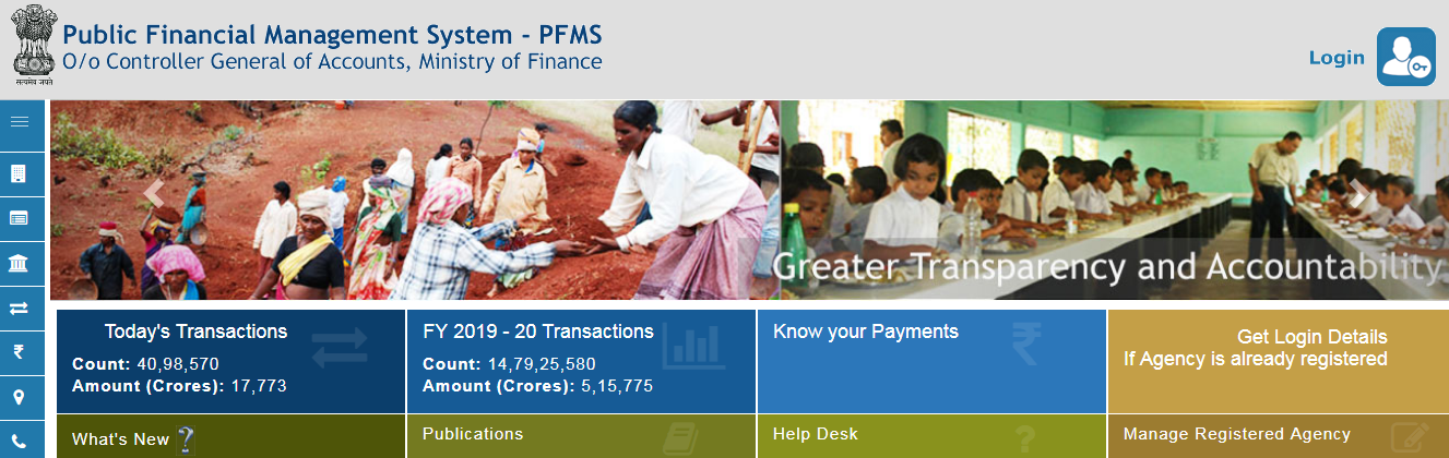 {pfms.nic.in} PFMS Scholarship 2019-20 Login - List, Eligibility, Registration, Renewal, Status