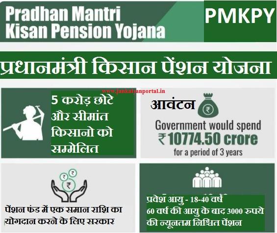 [Online Registration] Pradhan Mantri Kisan Pension Yojana 2019 - Rs. 3000 Scheme [PMKPY]