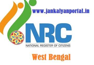 NRC West Bengal - Online Registration, Last Date, Rules, Final List