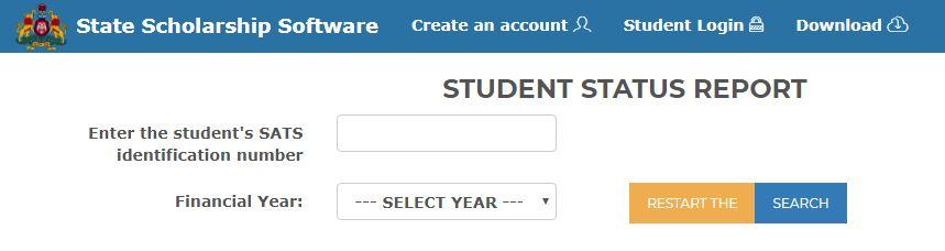 SSP Scholarship Karnataka Status