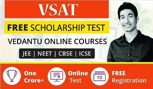 vsat.vedantu.com Login ~ Vedantu Scholarship Admission Test Result