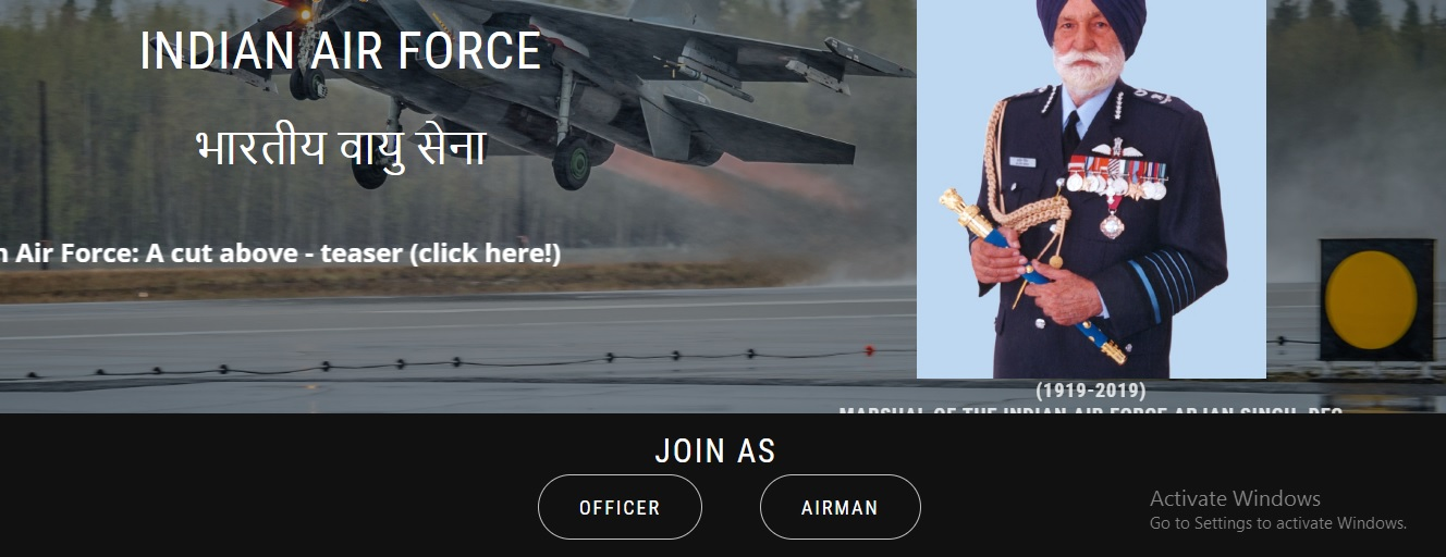How to check Career in Airforce