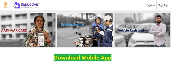 DigiLocker App (digilocker.gov.in) - All About Digilocker Mobile App - Free Download, Registration, Login
