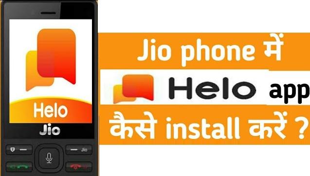 Helo App Install in Jio Phone - Download Helo App in Jio Phone