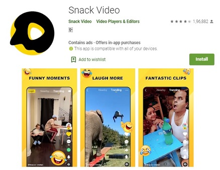 Snack Video App Download APK [iOS Android] - Snack Video App Made By Which Country
