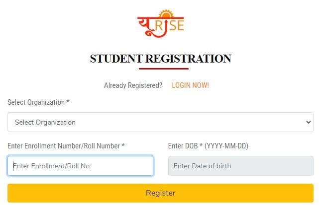 Steps For U-Rise Portal Online Student Registration