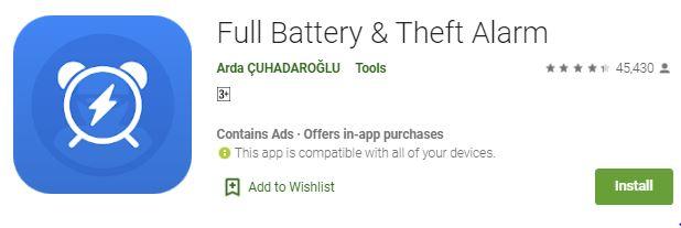 HogaToga Full Battery Charge Alarm App Free APK