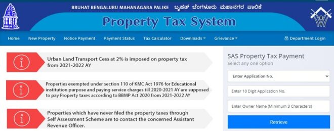 {How To Pay} BBMP Property Tax Online Payment 2021-22 Last Date, Receipt Download At bbmptax.karnataka.gov.in