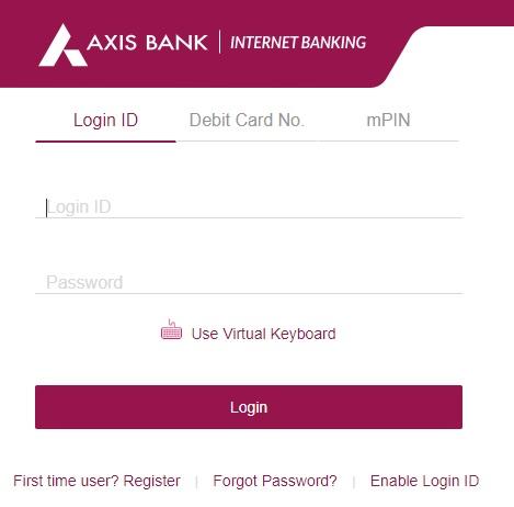 Axis Bank Net Banking Online Registration - Internet Banking Login [Credit Card, Corporate]
