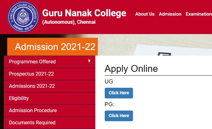 Guru Nanak College Admission 2021-22 - Online Application Form Last Date, Courses, Fees, Merit List