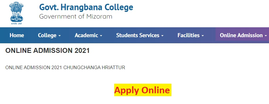 Hrangbana College Admission 2021 {ghbc.edu.in} - Application Form Last Date, Selection Process, Merit List
